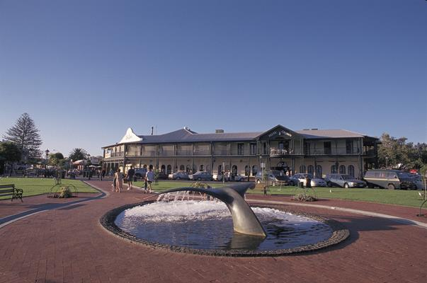 Crown Hotel & Warland Reserve: a great place to visit in Victor Harbor.  Image © SATC; Photographer Uknown. This photo sponsored by Security - Systems - Consultants Category.