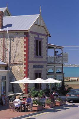 Anchorage Guest House: a great place to visit in Victor Harbor.  Image © SATC; Barry Skipsey. This photo sponsored by Computers - Disaster Recovery Category.