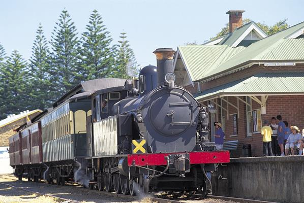 Steam Ranger: a great place to visit in Victor Harbor.  Image © SATC; Adam Bruzzone. This photo sponsored by Mechanical Repairs Category.