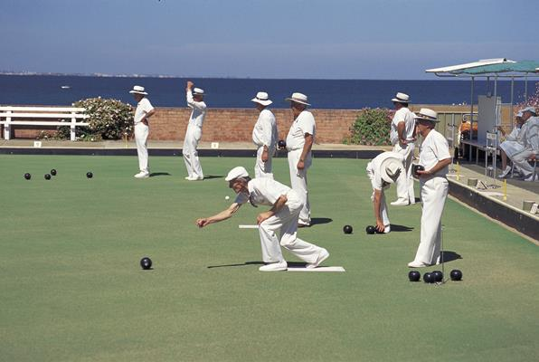 Lawn Bowls: a great place to visit in Victor Harbor.  Image &copy SATC; Photographer Uknown. This photo sponsored by Computers - Disaster Recovery Category.