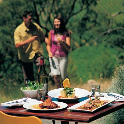 Food & Wine: a great place to visit in Victor Harbor.  Image © SATC; Chris Otto. This photo sponsored by Graphic Designers Category.
