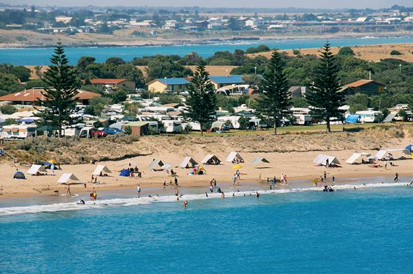 Pt Elliot: a great place to visit in Victor Harbor.  Image © Fleurieu Peninsula Tourism; Johnny . This photo sponsored by Charitable Institutions Category.