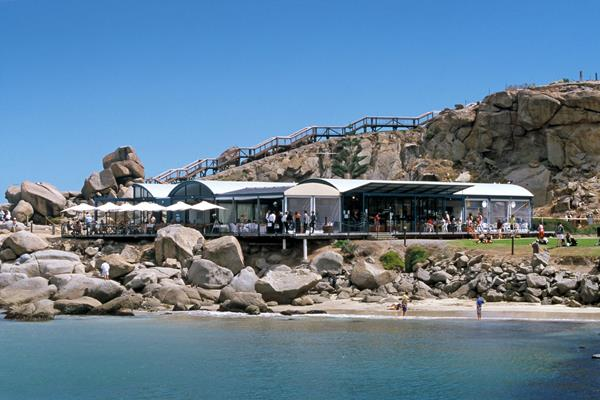 Reef Restaurant and Cafe: a great place to visit in Victor Harbor.  Image © SATC; Johnny Kamma. This photo sponsored by Cafes Category.