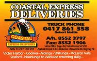 Visit Coastal Express Deliveries