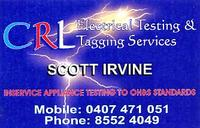 Visit CRL Electrical Testing and Tagging Services