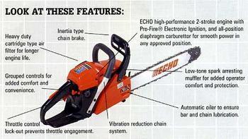 Chain Saws Listing