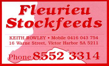 Victor Harbor Locality List  Image . This photo sponsored by Stock Feed Category.